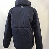 Куртка мужская / демисезонная на тонком синтепоне темно-синяя / размер M, L, фото 5