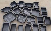 Пластиковая форма для изготовления тротуарной плитки