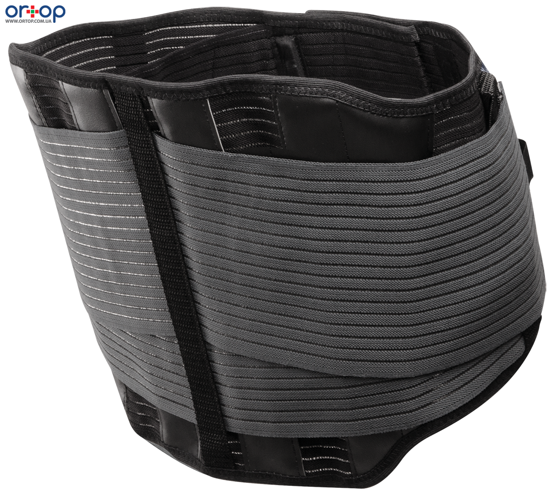 Динамичный усиленный поясничный корсет с функцией коррекции осанки Lombacross Activity 26 см, 1