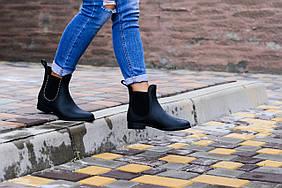 Ботинки челси Lillian резиновые с декором