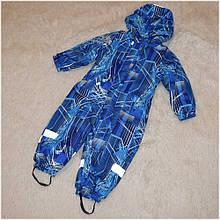 Термо-комбинезон Garden Baby для мальчика синий размеры 80 86 92 98