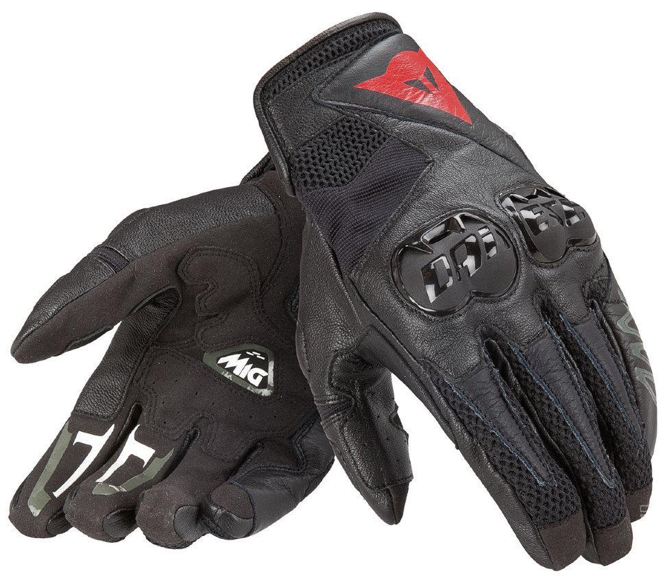 Мотоперчатки DAINESE MIG C2 кожа текстиль черный L