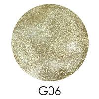 Зеркальный глиттер Adore G06, 2,5 г