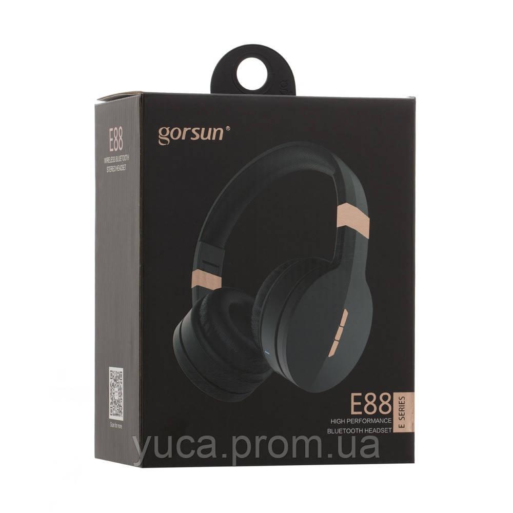 Беспроводные наушники Gorsun GS-E88 черно-стальной