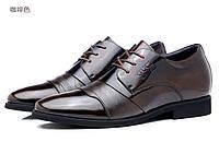Стильные мужские кожаные лаковые туфли  Gucci  2 цвета