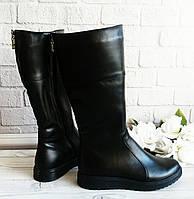 Зимние сапоги, натуральная кожа. Обувь VISTANI., фото 1