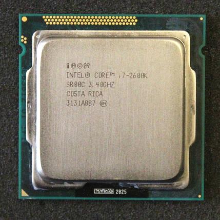 Процессор intel  core i7 2600 сокет 1155 (4 ядра по 3, Ггц/8 Мб), фото 2