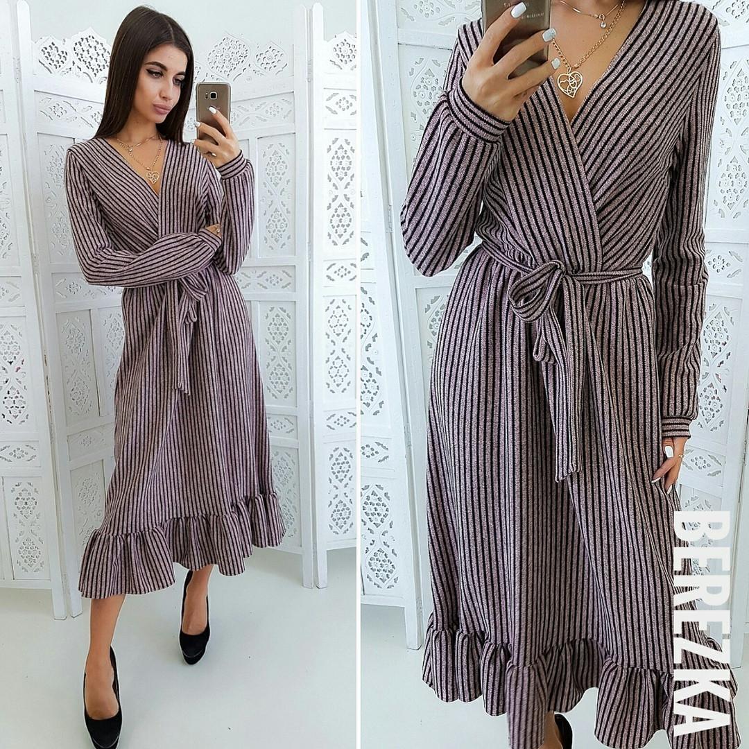 3cb3a5d6546 Стильное женское платье (ангора