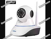 IP камера Поворотная. Поворотная записывающая Wi Fi IP камера