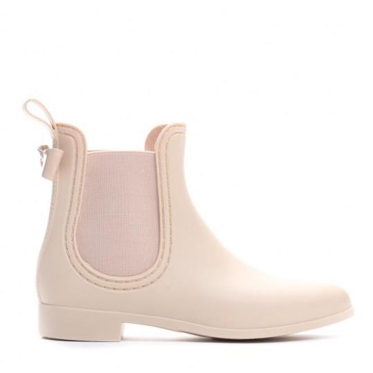 Женские резиновые ботинки DENI beżowe