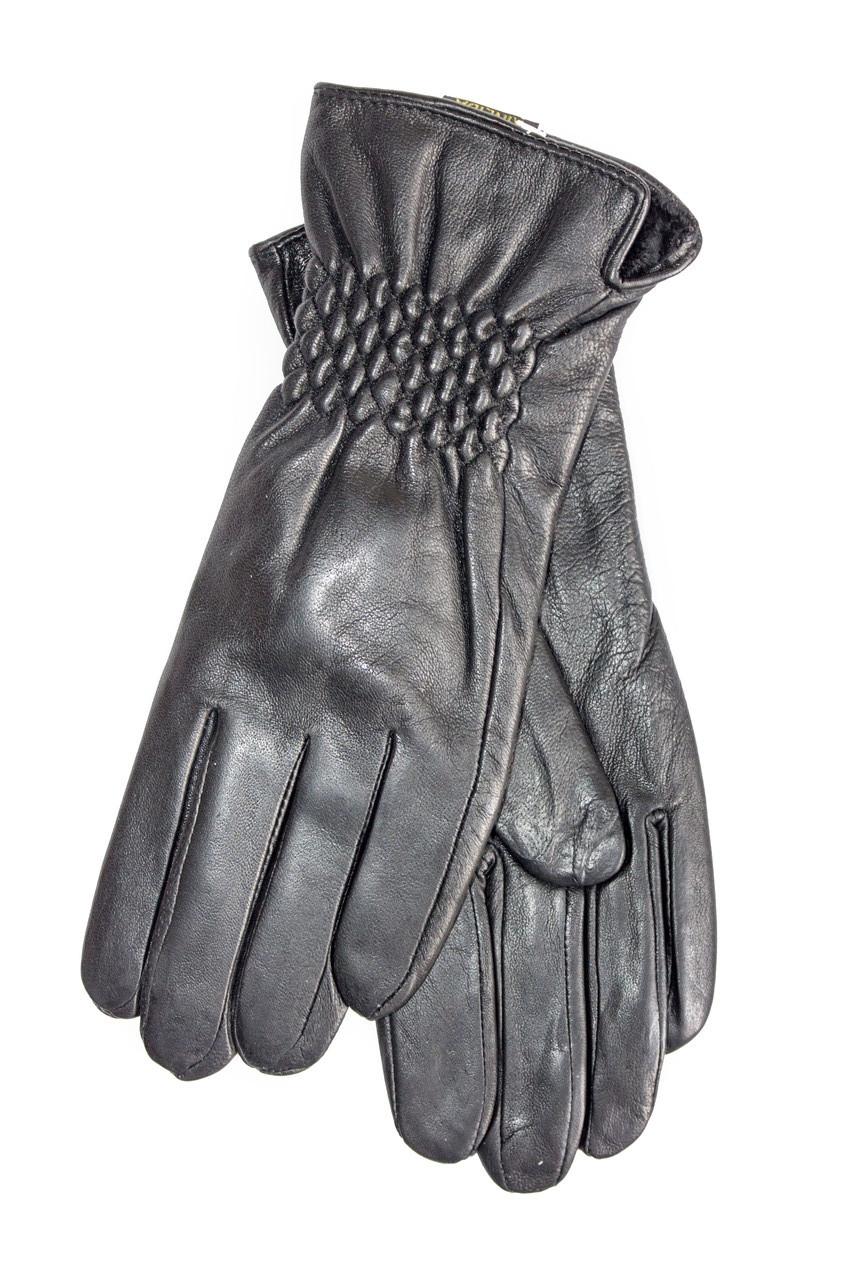 Перчатки из натуральной кожи - Средние с небольшим дефектом