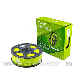 Пластик для 3D печати SUNLU HIPS, 1.75 мм, 1 кг, жёлтый