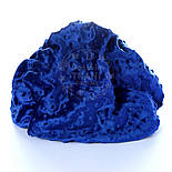 Отрез плюш minky М-69 для пледа, размер 100*80 см, синий цвет ультрамарин, фото 3