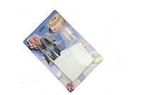 Набор насадок кондитерских 6 штук+переходник и мешок конд. большой Галетте  - 01994