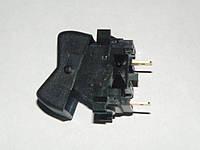 Включатель-клавиша переключения газ-бензин ВАЗ, ГАЗ (2 конт.), Радиодеталь (ВК343-01.48)