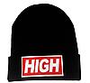 Шапка черная HIGH