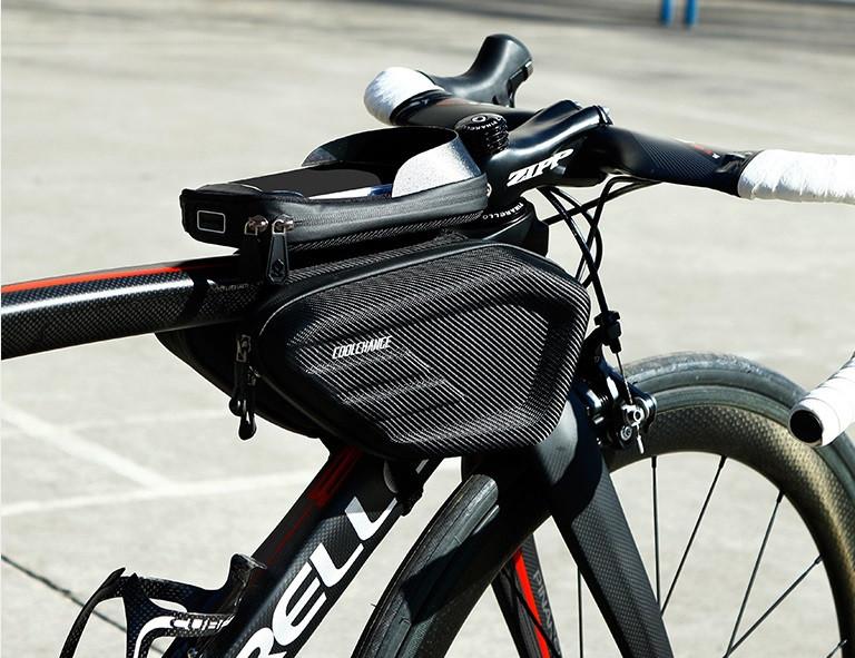 CoolChange велосумка нарамная водонепроницаемая под смартфон 5-6.2&quo 3