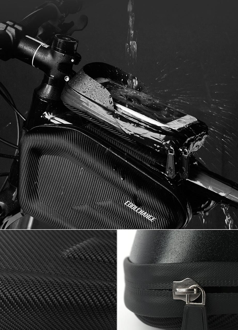 CoolChange велосумка нарамная водонепроницаемая под смартфон 5-6.2&quo