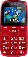 Телефон Sigma mobile Comfort 50 SLIM2 RED. Гарантия в Украине 1 год!