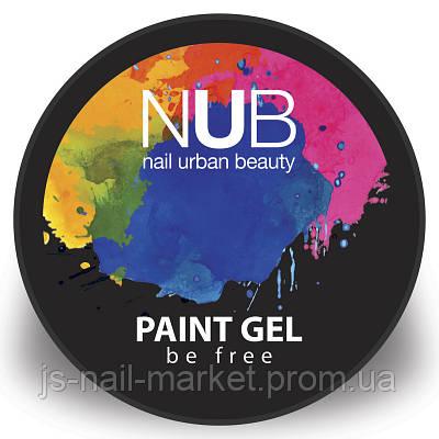 """Гель-фарба """"Paint Gel"""" NUB #1, 5g"""