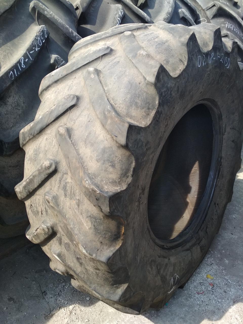 Шины б/у 600/70R30 BKT для трактора JOHN DEERE, CASE IH