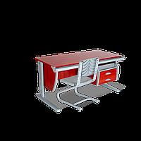 Комплект растущей мебели ДЭМИ: парта 120 см + стул (СУТ 15-03)