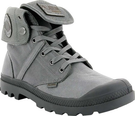 Мужские ботинки Palladium Pallabrouse Baggy L2 Ankle Boot French Metal  Tumbled Leather (37.5 размер) eea7984041502