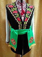 Жилет чоловічий український з вишивкою, фото 1