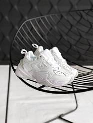 Женские кроссовки в стиле Nike Tekno M2K All White (36, 37, 38, 39, 40 размеры)