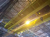 Погрузочный промышленный кран прогрунтован ГФ-021 и окрашен ПФ-115 желтая. Гордимся нашими клиентами !