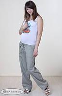 """Брюки для беременных """"Sahara"""" серые размер L, фото 1"""