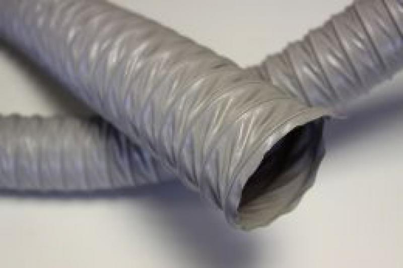 Воздуховод армированный гибкий с ПВХ 45х3,55 мм