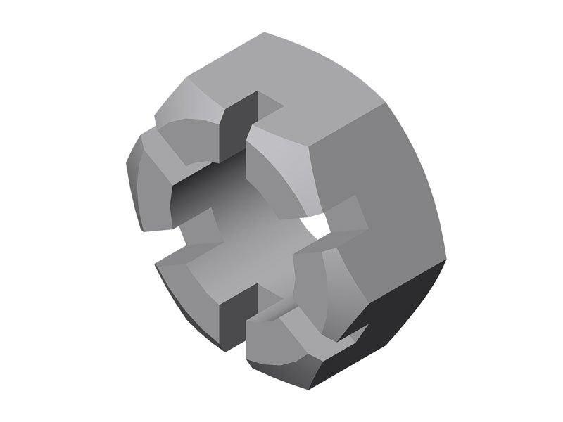 Гайка БДМ 16.02.602 (М27х2)