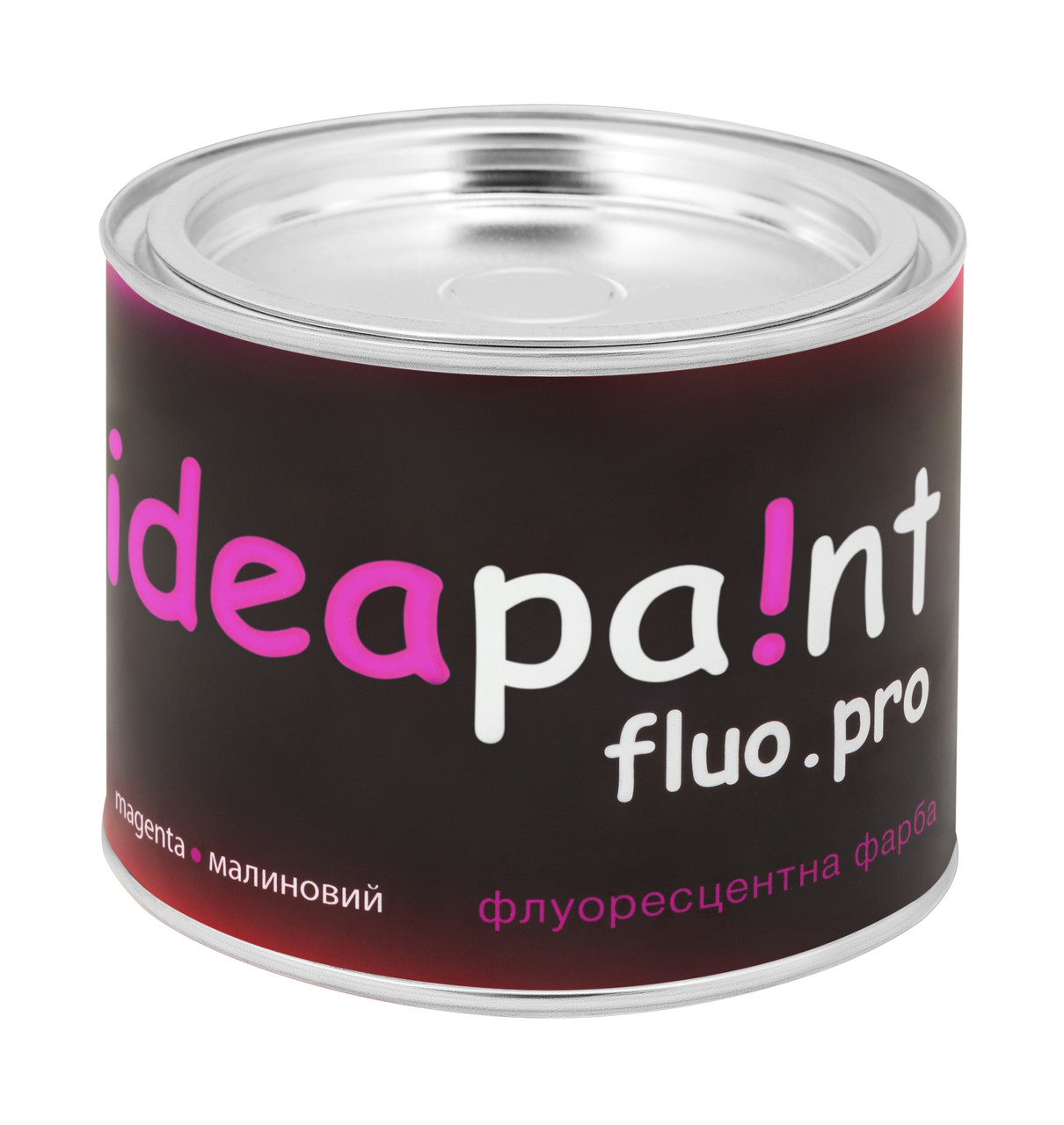 Флуоресцентная краска малиновая  ideapaint  0,5 л.