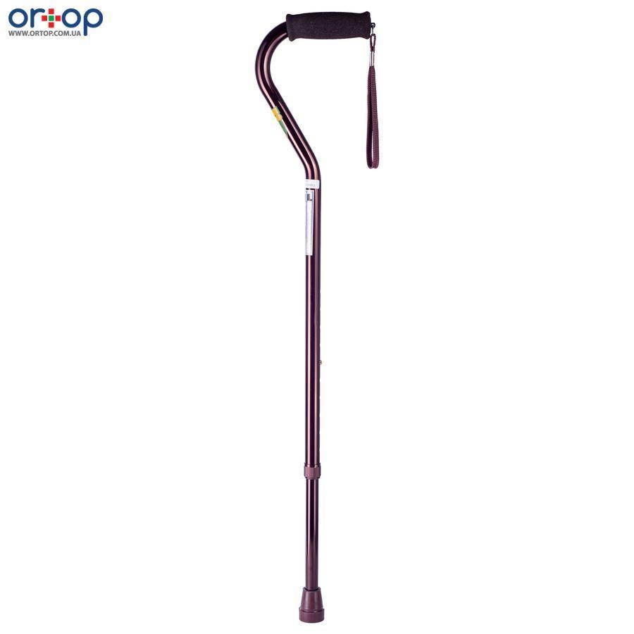 Трость «Nova» с мягкой ручкой и ремнем (цвет бронза, высота 76-99см, максимальная нагрузка 120кг)