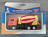 Машина металлическая 1:32 Бетономешалка КАМАЗ SB-16-24WB Технопарк