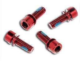 Болти Bengal M6x18 мм, червоні, 4 шт (для гальм)