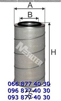 Фильтр воздушный DAF, MAN, MB ACTROS