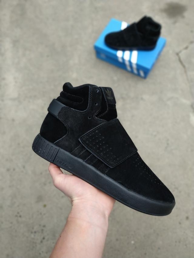 557669bae Кроссовки высокие осенние черные мужские Adidas Tubular Адидас Тубулар. Кроссовки  Adidas Tubular