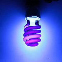 Лампа ультрафиолетовая под Е27 220В длина волны 365 нм
