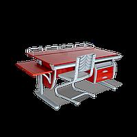 Комплект растущей мебели ДЭМИ: парта 120 см + стул (СУТ 15-05)