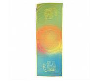 Мягкое полотенце для йоги Bodhi Мечты слона 183x61x0.1 см