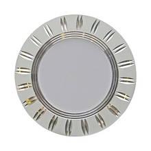 Світильник LED точковий Feron AL779 220V 5W метал срібло