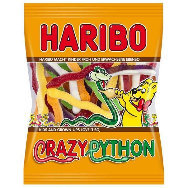 Желейные конфеты Haribo Crazy Python