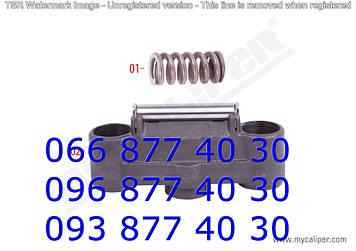 Бинокль суппорта KNORR SB6/SB7 с осью и пружиной