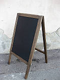 Штендер меловой односторонний, доска меловая, фото 3