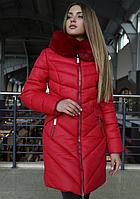 Зимняя куртка Джойс с воротником капюшоном (0310/43)