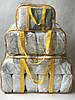 Набор из 3 прозрачных сумок в роддом - S,L,XL - Желтые, фото 9