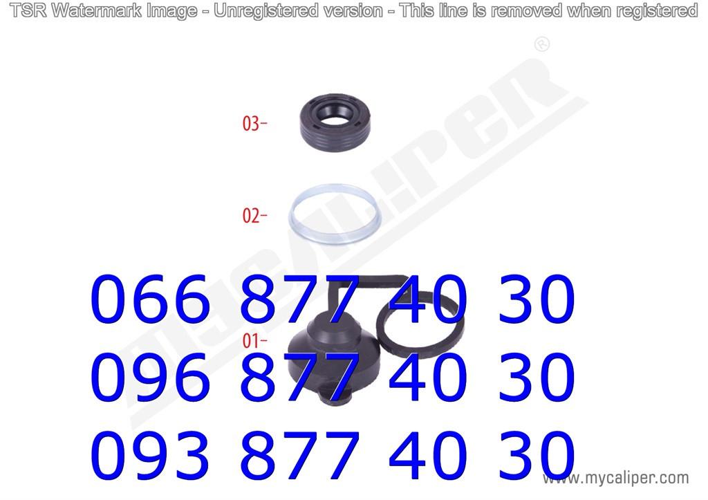 Ремкомплектт суппорта MERITOR DUCO TYPE(уплотнители+колпачок)