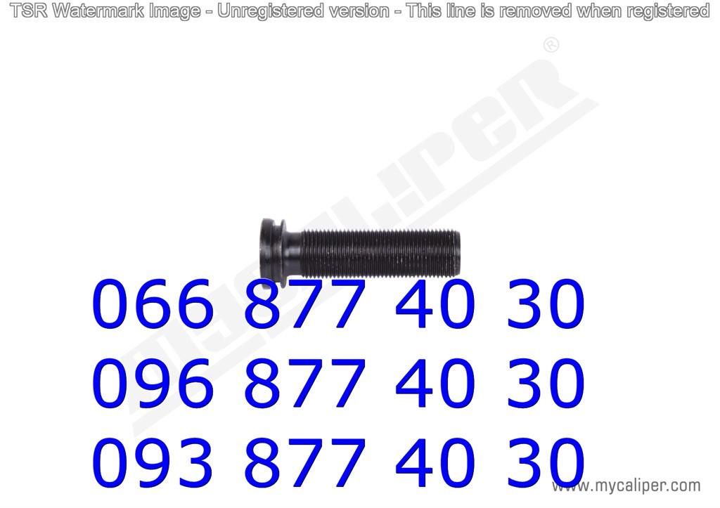 Ремкомплектт суппорта MERITOR DX.195 TYPE (болт прав)